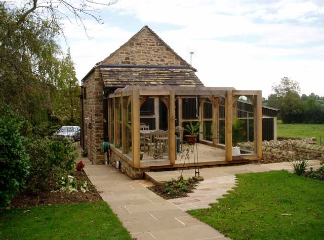 Barn Conversion In Green Belt By Building Architect Lee